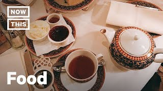 English Afternoon Tea Etiquette | Cuisine Code | NowThis thumbnail