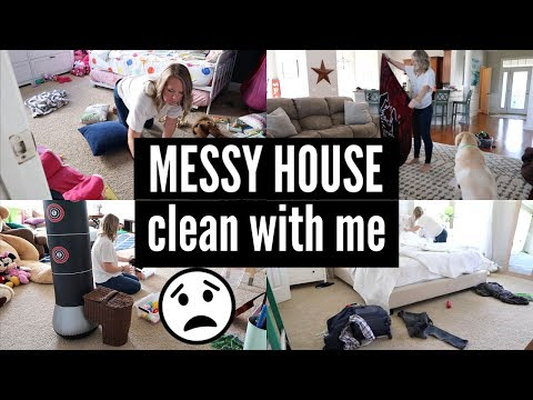 MESSY HOUSE TRANSFORMATION | CLEAN WITH ME