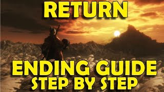 Sekiro Shadows Die Twice - How to Get RETURN Ending - Step by Step Guide
