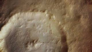 False Mirror - Low Mars Orbit / 12,000 Meters Above The Tharsis Plateau HD