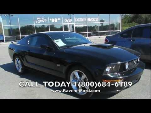 2008 FORD MUSTANG GT REVIEW * 1 owner leather * For Sale @ Ravenel Ford * Charleston
