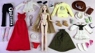 ★CCS 모모꼬 가네트 개봉후기/육일돌★CCS Momoko 12NY Home-Garnet Unboxing/Doll Dress Up