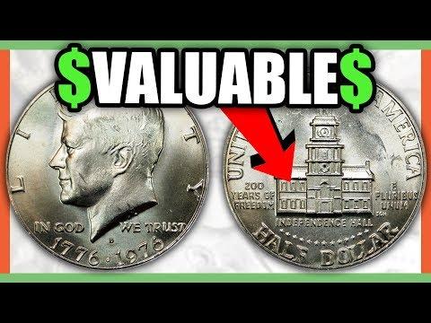 RARE HALF DOLLARS WORTH MONEY - KENNEDY HALF DOLLAR COINS TO LOOK FOR!!