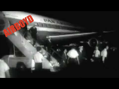 Hijacked Plane: Jet Released By Castro (1961)