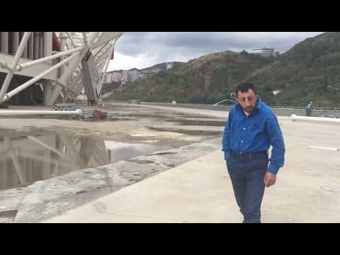 Köksal Baba Trabzonspor'un Yeni Stadyumunda Kimi Azarladı