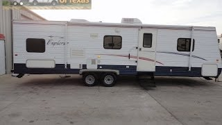 2006 30ft Bumper Pull Explorer Bunk House Travel Trailer Sleeps 10!