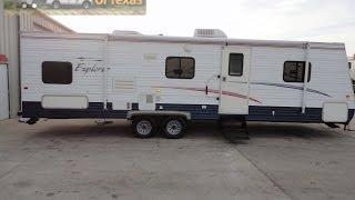 2006 30ft Bumper Pull Explorer Bunk House Travel Trailer Sleeps 10!