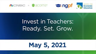 Invest in Teachers: Ready. Set. Grow.