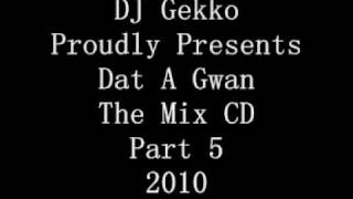 DJ Gekko Dat A Gwan The Mix CD Part 5