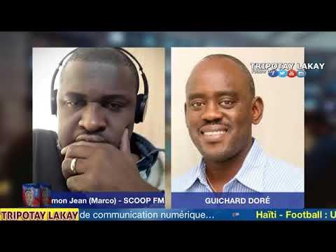 Haiti debat - Guichard Doré (Konseye Politik prezidan an) ap eklèsi kek pwen sou bidjè a.