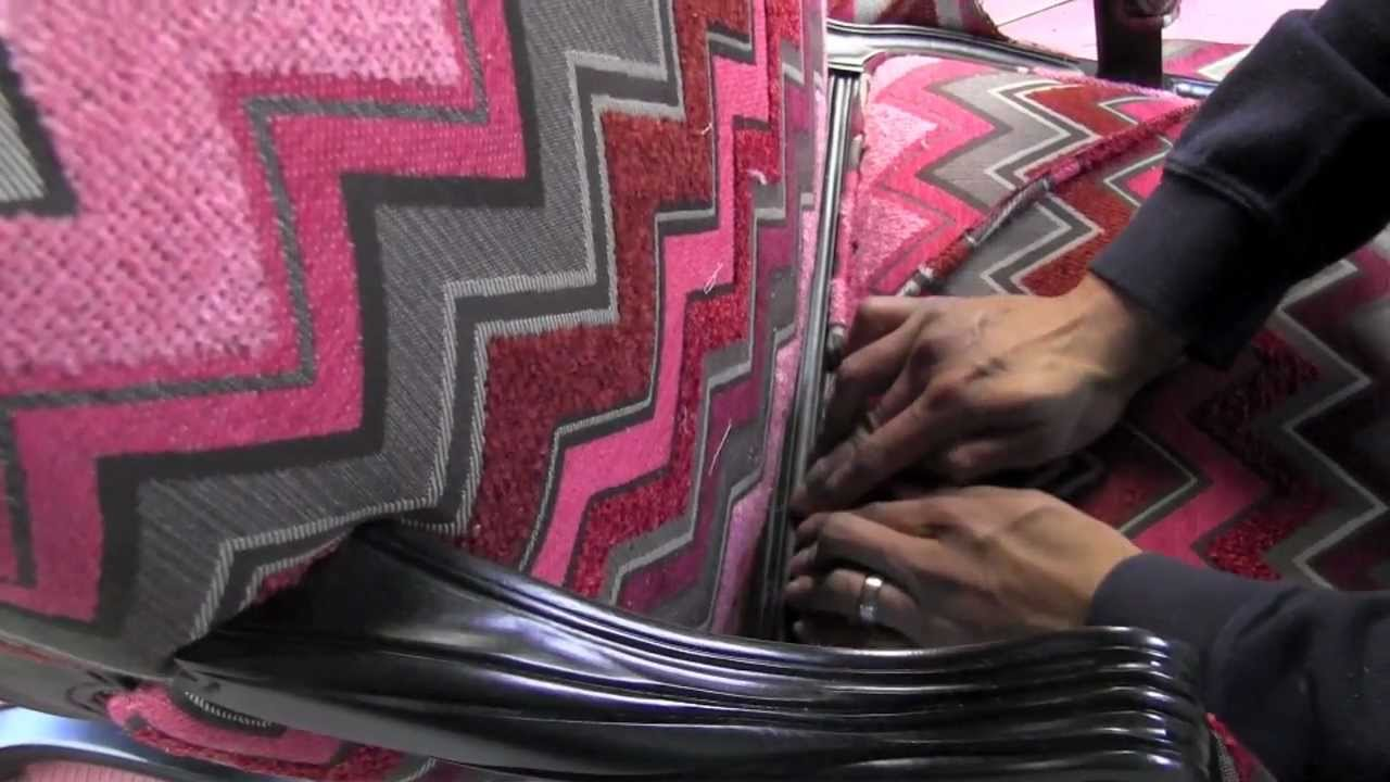 Upholstery How To Attach Piping Cording Welting To An Upholstered