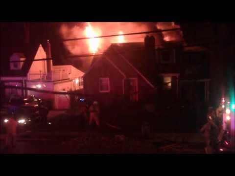 VIDEO: Group home fire at 23-10 Berkshire Road, Fair Lawn
