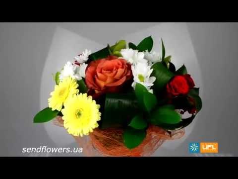 Букет С 8 марта. Заказать доставку цветов - SendFlowers.ua