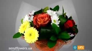 Букет С 8 марта. Заказать доставку цветов - SendFlowers.ua(, 2014-03-05T16:33:44.000Z)