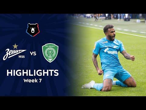Zenit Petersburg Akhmat Grozny Goals And Highlights