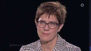 Neue CDU-Chefin: Kramp-Karrenbauer im Interview