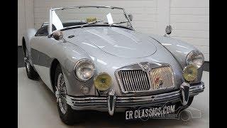 MGA Cabriolet 1959 -VIDEO- www.ERclassics.com
