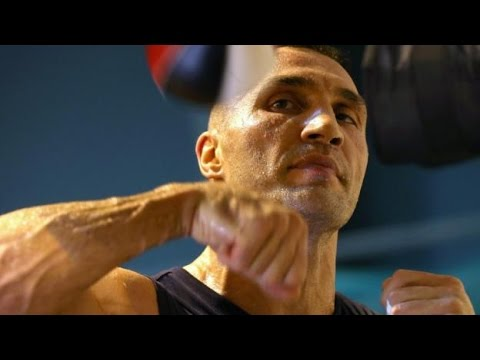 A GLIMPSE IN WLADIMIR KLITSCHKO'S CAMP AS HE PREPARES FOR WAR AGAINST ANTHONY JOSHUA