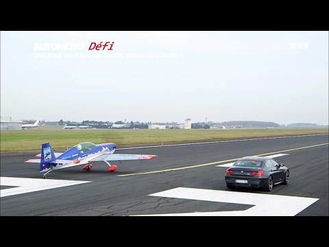 Défi : La BMW M6 Gran Coupé peut-elle battre un avion ?