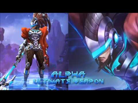 Alpha: Hero Gameplay - Mobile Legends - CDR Build Nearly Perfect MVP