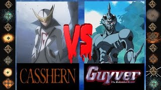 Casshern ( Neo-Human) vs Guyver (Bio-Booster Armor) - Ultimat Mugen Fight 2015