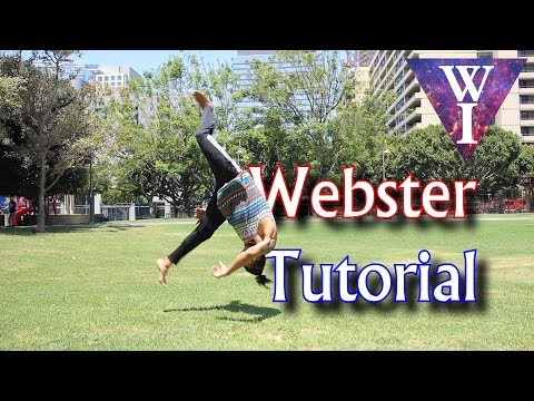 How to Front flip Webster  Tricking Tutorial by William Irizarry