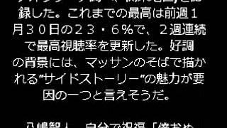 NHKの朝ドラが好調だ。玉山鉄二主演で、初の外国人ヒロインとなった...