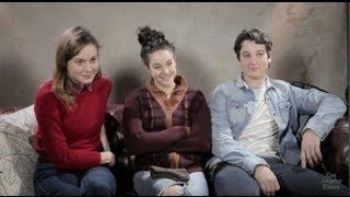 Brie Larson, Shailene Woodley, Miles Teller on 'The Spectacular Now': Sundance Film Festival