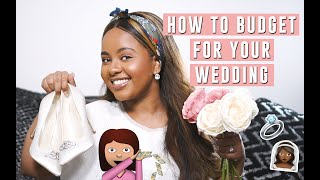 HOW TO BUDGET FOR YOUR WEDDING | 10 MONEY SAVING TIPS | Bethel Brown
