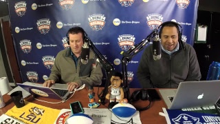 Dunc and Holder on Sports 1280 in New Orleans. March 15, 2018