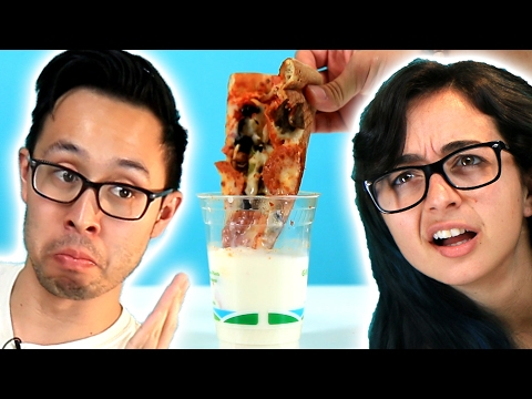 Thumbnail: People Try Pizza Dipped In Milk