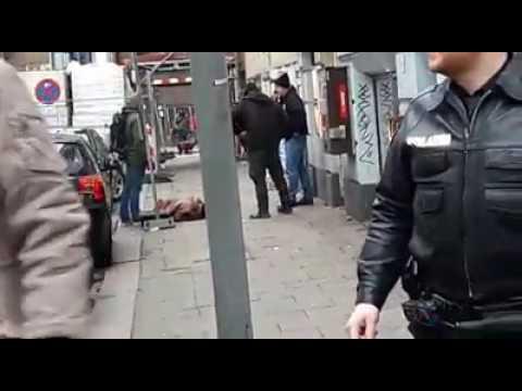 Ghanaian Man Shot By Hamburg Police