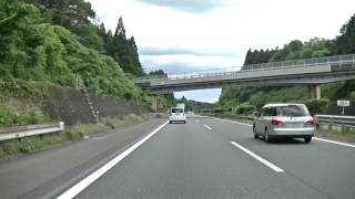 【車載動画】東北自動車道(上り)白河IC⇒矢板IC