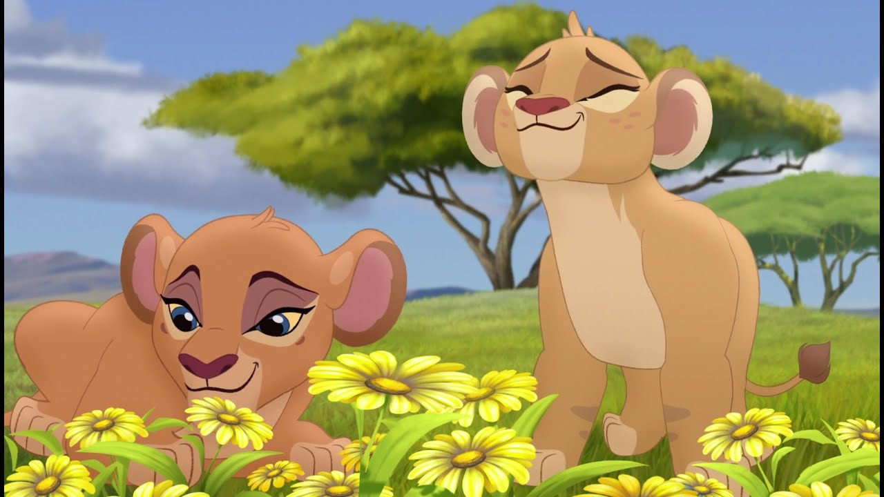 Image result for the lion guard tiifu and zuri