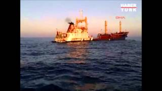 Kargo Gemisinin Batışı Böyle Görüntülendi