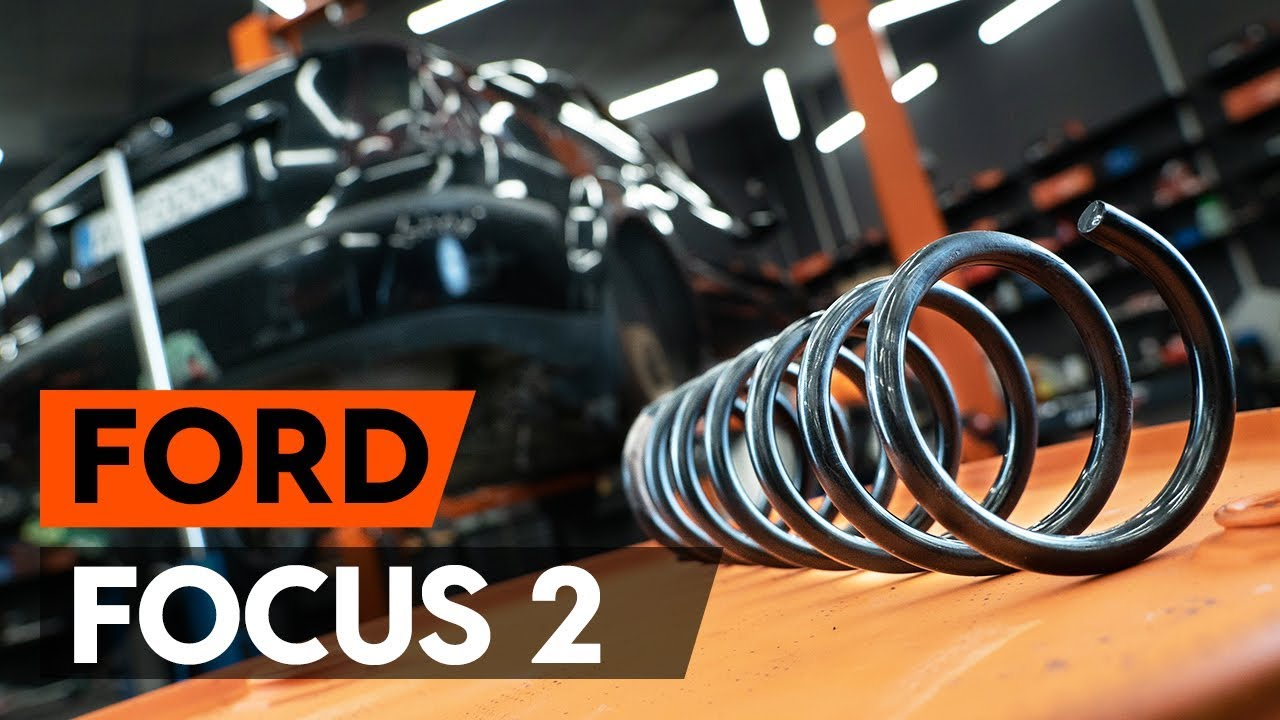 Front Coil Spring FOR FORD FOCUS II 2.0 06-/>10 Convertible Sports susp Diesel