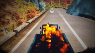 ghost rider spirit of vengeance PC game part 2 hell trucking down the highway.