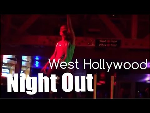 Follow me around LA - Night out Beverly Hills and WeHo