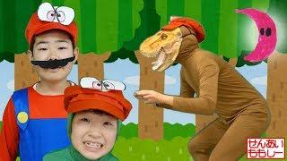 スーパーマリオオデッセイごっこをするせんもも Real Life Super Mario Odyssey