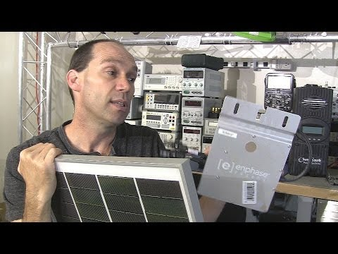 How to Solar Power Your Home #7 -  Grid Tie v Micro Inverter