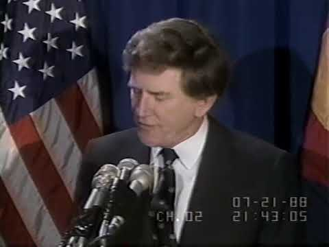 1988 Gary Hart Second Withdrawal from Presidential race
