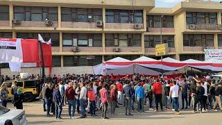 توافد الناخبين على اللجان في القاهرة للمشاركة في الاستفتاء على الدستور (فيديو)   المصري اليوم