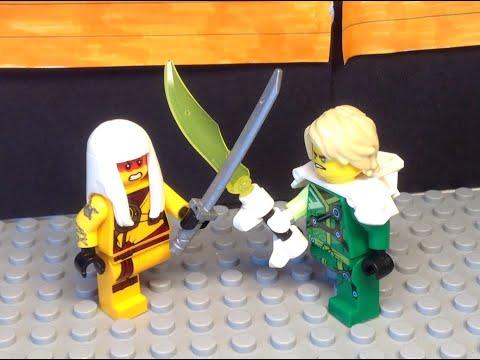 Lego Ninjago Season 12 Lloyd vs Harumi Scene Recreation!