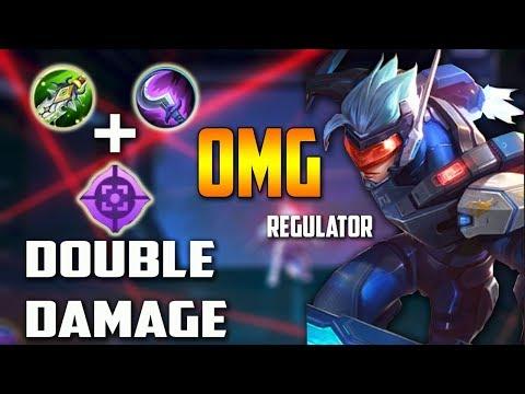 OMG Double Damage Saber Regulator BOD,Hunter Strike,Emblem High and Dry by Ansel ABEDNEGOAR