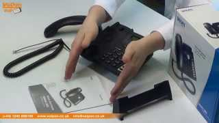 snom 300 VoIP Phone Video Review / Unboxing