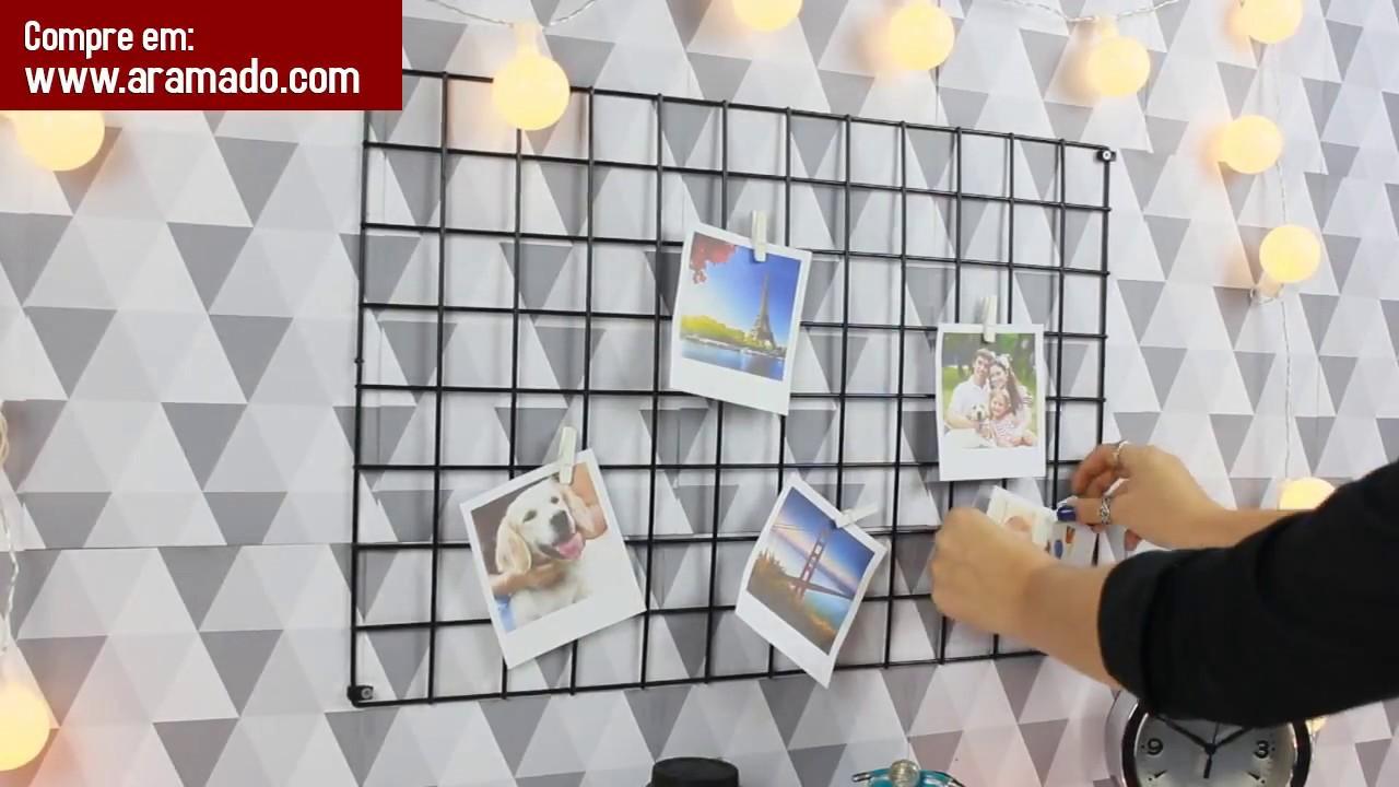 1000 produtos e dicas para organizar sua casa 131 tela for Murales de tela para pared