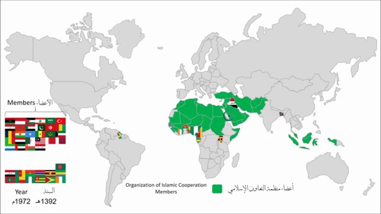 الخريطة الزمنية لدول المسلمين Youtube