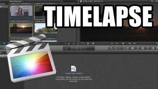 Final Cut Pro X - #19: Timelapse