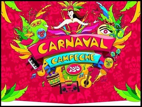 "Carnaval Campeche 2015 ""Sabado de Bando"""