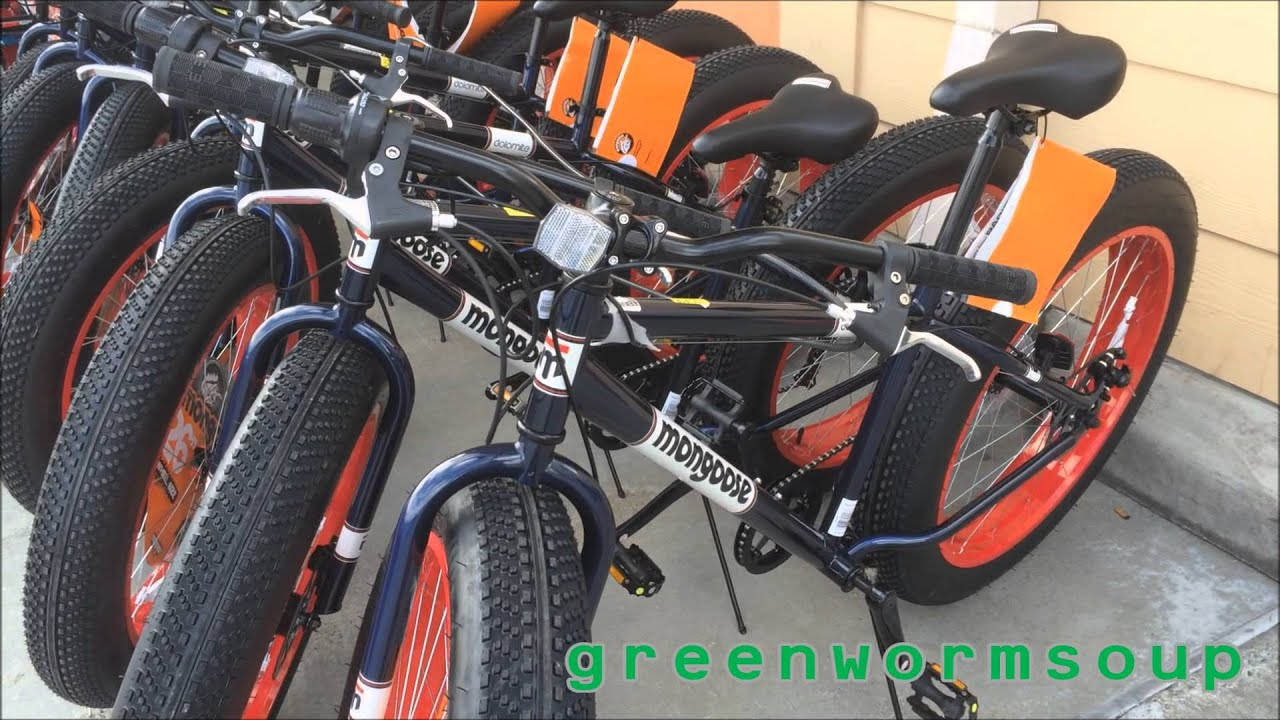 Alaska Walmart Fat Tire Bikes Youtube